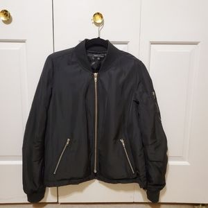 Kendall and Kylie black bomber jacket